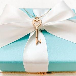 Tiffany & Co. Tiffany Keys Heart Key Pendant 18k